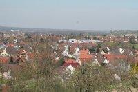 Blick vom Marchhügel auf Hugstetten, Buchheim u. Neuershausen 7.4.2007