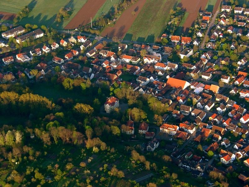 Luftbildaufnahme March - Hugstetten