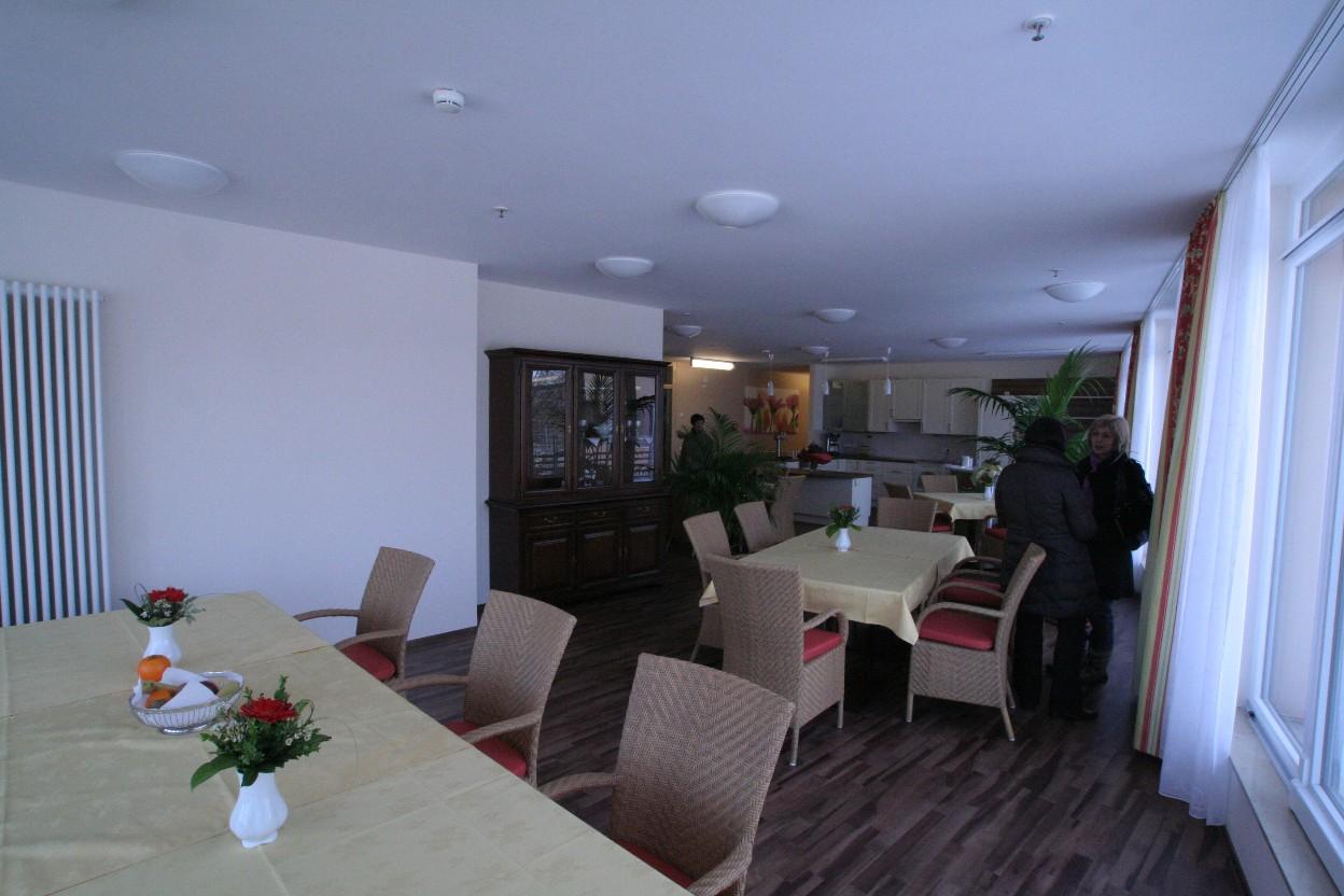 Essenssaal des Pflegeheims