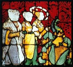 Münsterfenster zeigt die Familie Conrad Stürtzels