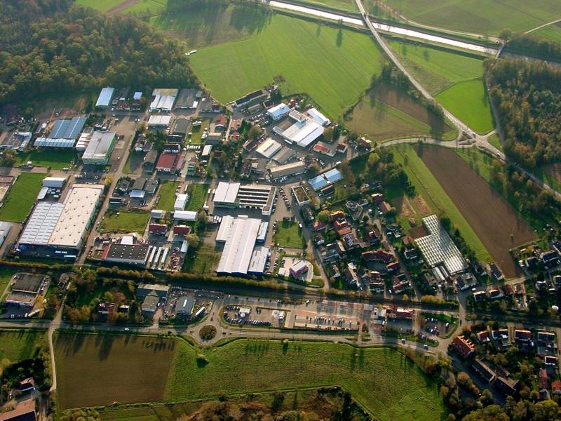 Am 06. November 2006 ist vom Neubaugebiet in Hugstetten noch nichts zu sehen.