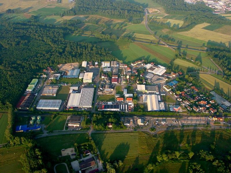 Am 24. Juni 2006 noch keine Bauaktivität im Neubaugebiet von Hugstetten