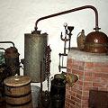 Brennofen, Brenngeschirr und Geräte zum Mosten