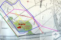 Planungsgebiet Tank- und Rastanlage in Holzhausen