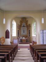 Innbenraum Martin-Luther-Kirche Hugstetten