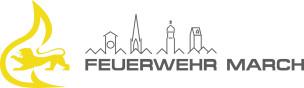 Logo FF March gelb-grau