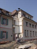 Rathaus nach dem Abriss der Toilettenanlagen