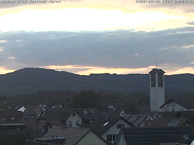 Webcam der Gemeinde March